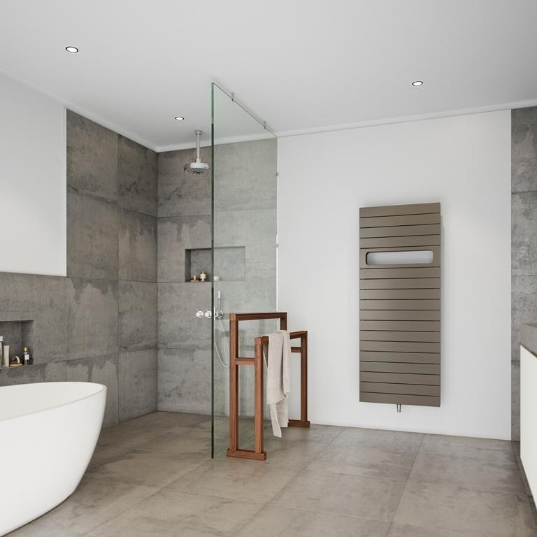 Stijlvolle badkamerradiator DECO in enkele en dubbele uitvoering  u2013 Instamat