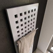 Designradiator Karo met handdoek