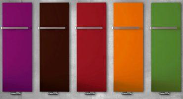 Designradiatoren Stretta in kleur