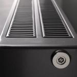 at AC plintradiator - detail