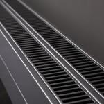 Instamat AC plintradiator - detail