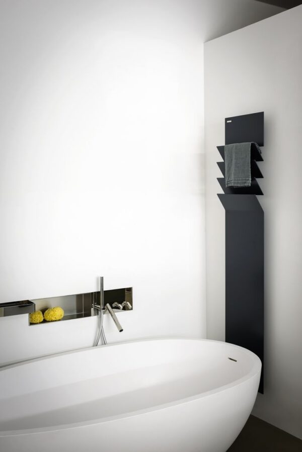 Flaps designradiator zwart
