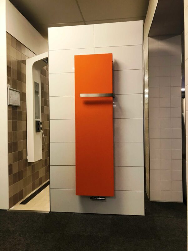 Stretta designradiator oranje