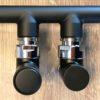 Aansluitset Cylinder zwart